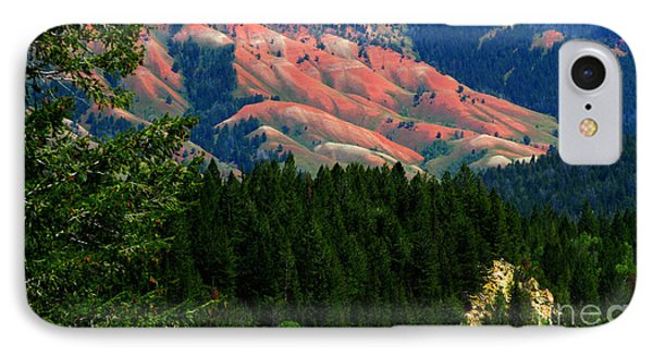 Blushing Hills IPhone Case by Janice Westerberg