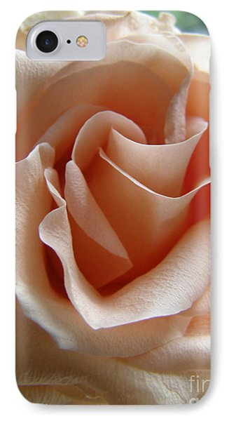 IPhone Case featuring the photograph Blushing Rose by Margie Amberge