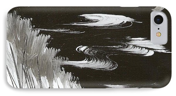 Blustery Winter Evening IPhone Case by Ginger Lovellette