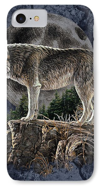 Bm Wolf Moon IPhone Case by JQ Licensing