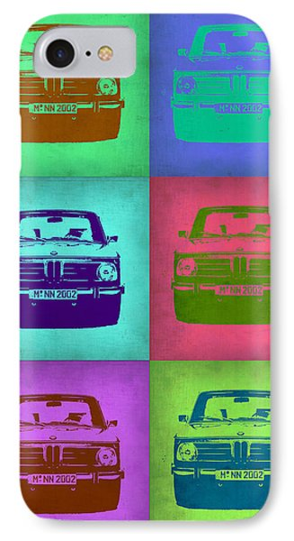 Bmw 2002 Pop Art 2 IPhone Case by Naxart Studio
