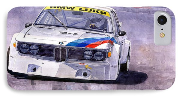 Bmw 3 0 Csl 1972 1975 Phone Case by Yuriy  Shevchuk