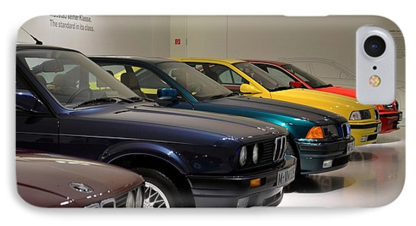 Bmw Cars Through The Years Munich Germany IPhone Case