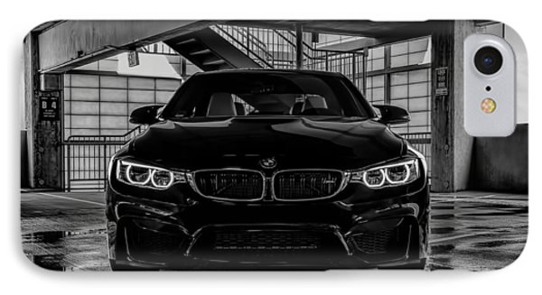 Bmw M4 IPhone Case by Douglas Pittman