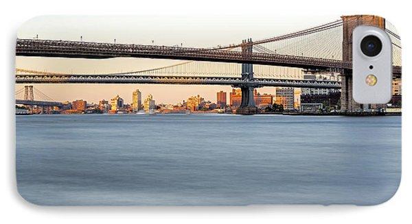 Bmw New York City Bridges IPhone Case by Susan Candelario