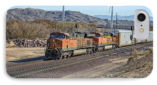 Bnsf 7454 IPhone Case by Jim Thompson