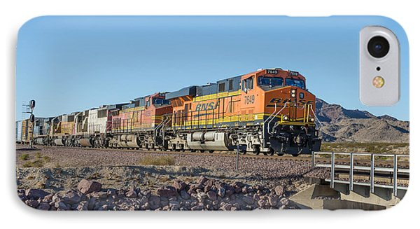 Bnsf 7649 IPhone Case by Jim Thompson
