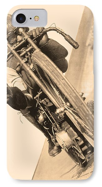 Board Track Racer IPhone Case