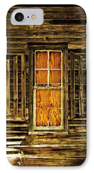 Boarded Window Phone Case by Marty Koch