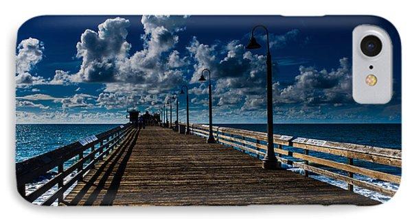Boardwalk Blues  Phone Case by Cecil K Brissette