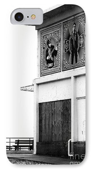 Boardwalk Building IPhone Case by John Rizzuto