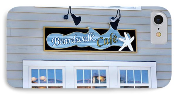 Boardwalk Cafe IPhone Case by Lanjee Chee