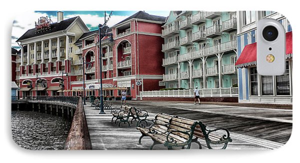 Boardwalk Early Morning IPhone Case by Thomas Woolworth