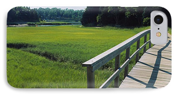 Boardwalk In A Field, Nauset Marsh IPhone Case by Panoramic Images