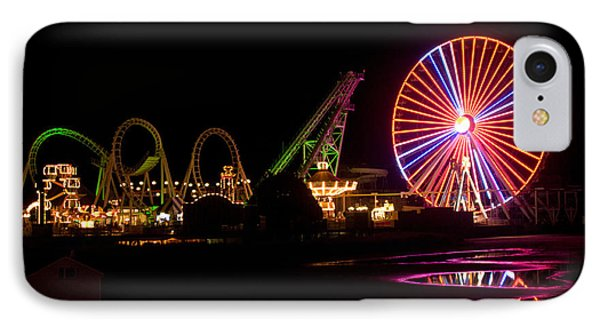 Boardwalk Night IPhone Case by Greg Graham