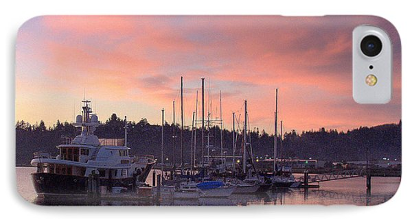 IPhone Case featuring the photograph Boardwalk Sunrise by Suzy Piatt