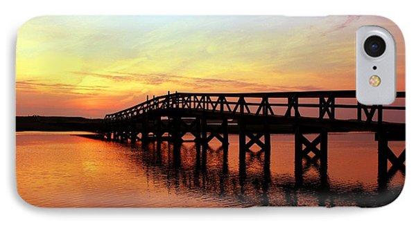 Boardwalk To Heaven 2 Phone Case by Matthew Grice
