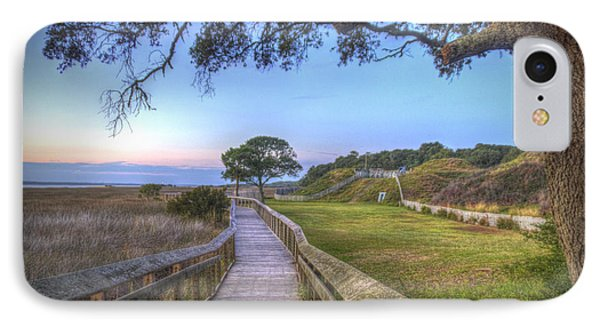 Boardwalk To History IPhone Case