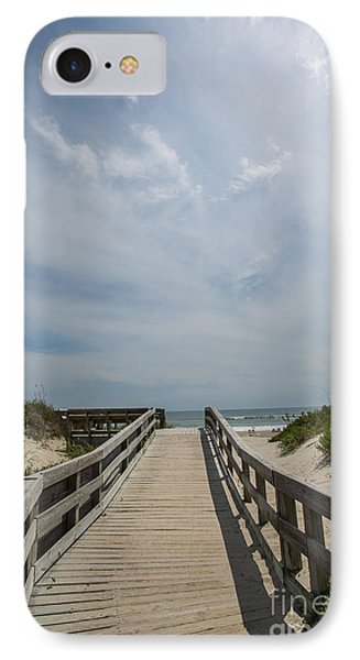 Boardwalk To The Beach Phone Case by Kay Pickens