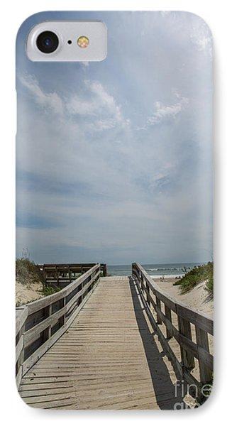 Boardwalk To The Beach IPhone Case