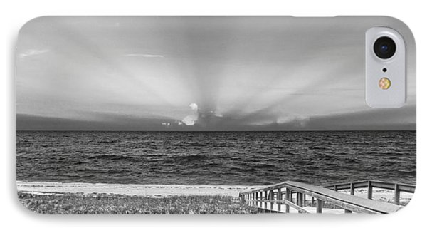 Boardwalk To The Sea Phone Case by Michelle Wiarda