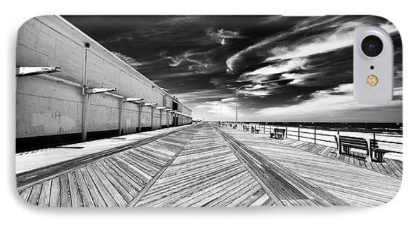 Boardwalk Walk Phone Case by John Rizzuto