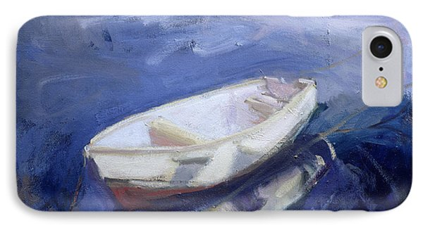 Boat And Buoy Phone Case by Sue Jamieson