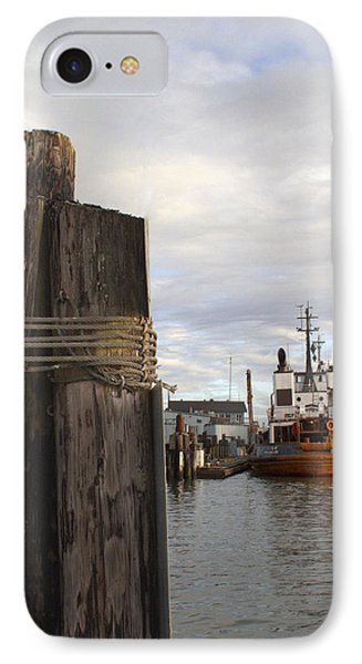 View From The Pilings IPhone Case by Suzy Piatt