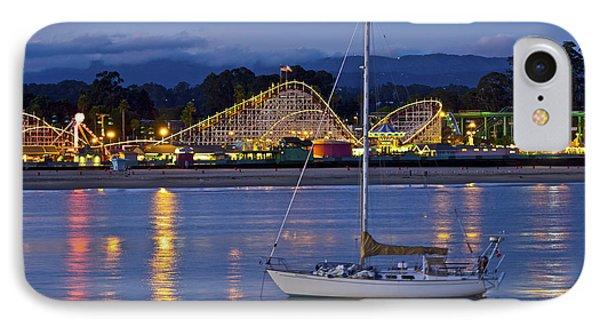 Boat At Twilight IPhone Case