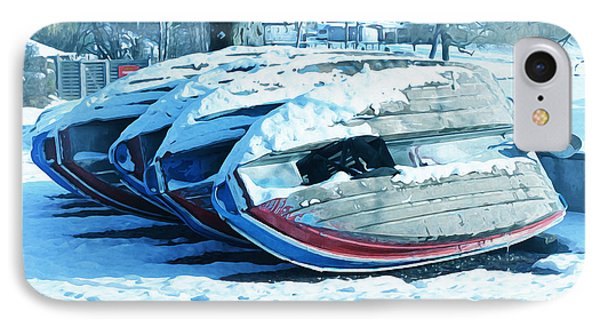 Boat Hire On Holiday Phone Case by Jutta Maria Pusl