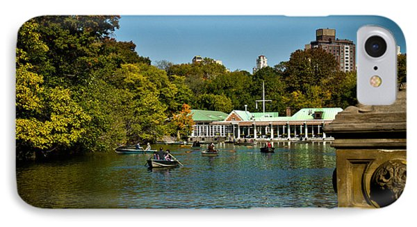 Boat House Central Park New York Phone Case by Amy Cicconi