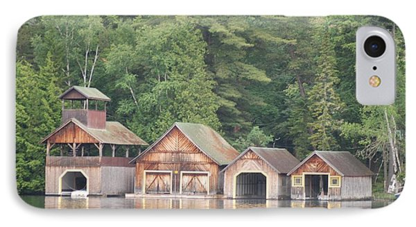 Boat House IPhone Case