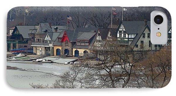Philadelphia's Boat House Row  IPhone Case by Cindy Manero