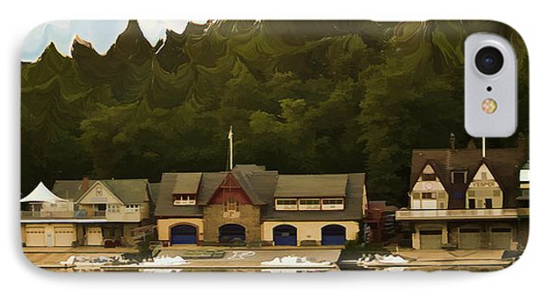 Boat House Row Phone Case by Trish Tritz