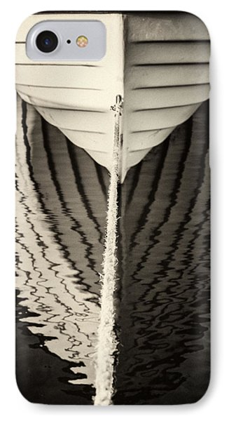 Boat Mirrored IPhone Case by Mike Santis