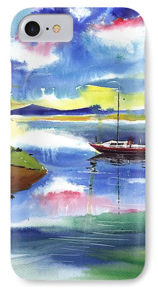 Boat N Colors Phone Case by Anil Nene