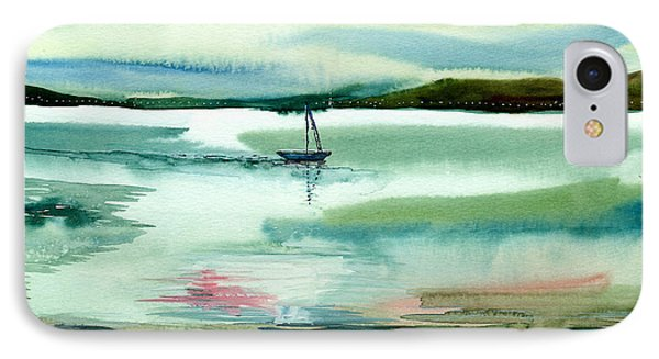 Boat N Creek Phone Case by Anil Nene