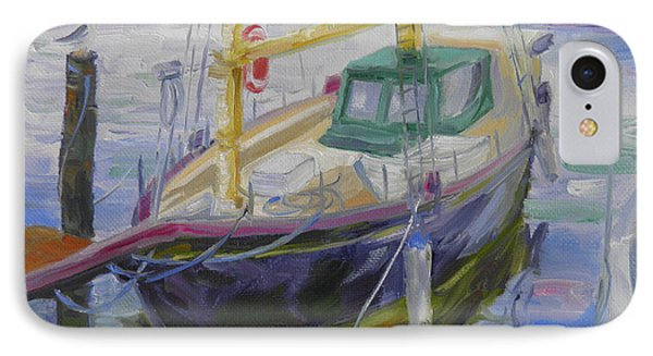 Boat Of Bountiful Color IPhone Case