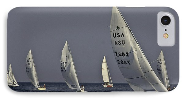 Boat Racers IPhone Case by Michael Nowotny