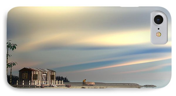Boat Repair IPhone Case by John Pangia