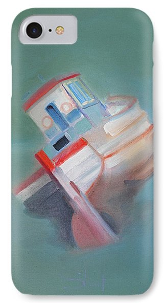 IPhone Case featuring the painting Boat Retired  Tavira by Charles Stuart