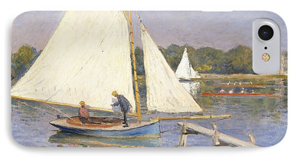 Boaters At Argenteuil IPhone Case
