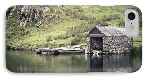 Boathouse IPhone Case by Jane Rix