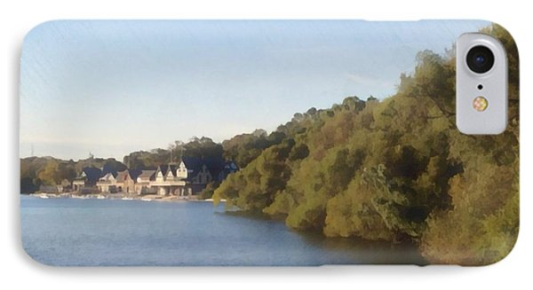 IPhone Case featuring the photograph Boathouse by Photographic Arts And Design Studio