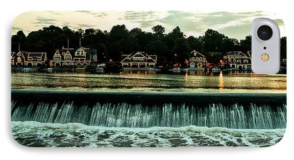 Boathouse Row And Fairmount Dam Phone Case by Bill Cannon