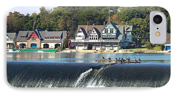 Boathouse Row At The Waterfront IPhone Case