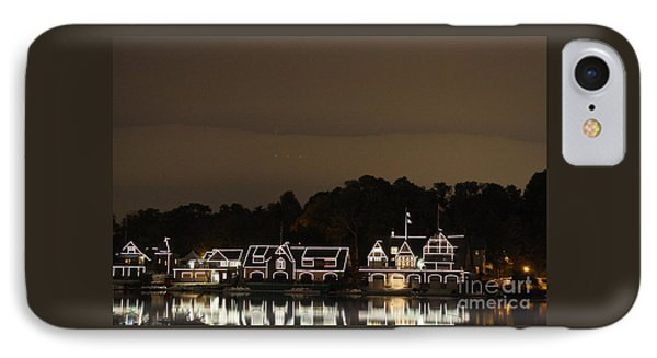 Boathouse Row IPhone Case by Christopher Woods