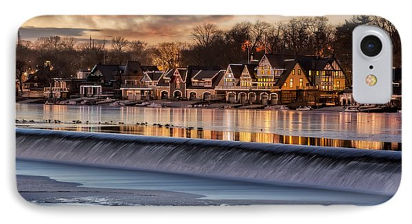 Boathouse Row Philadelphia Pa IPhone Case by Susan Candelario