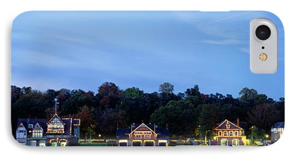 Boathouse Row Philadelphia Pennsylvania IPhone Case by Panoramic Images
