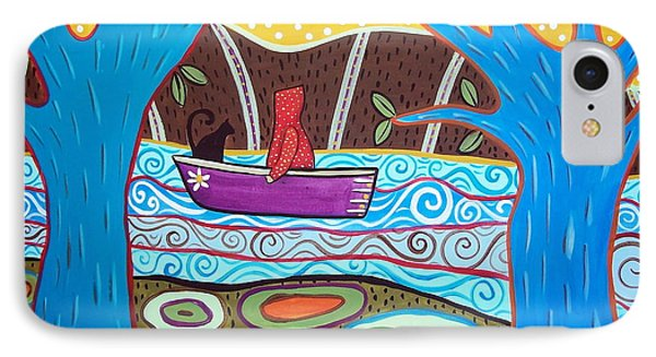 Boating IPhone Case by Karla Gerard